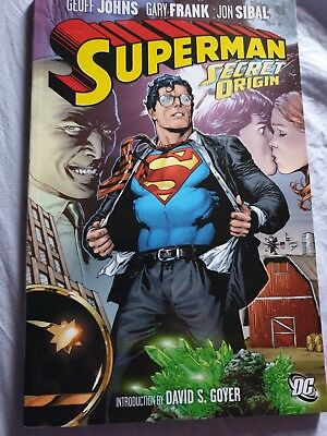Superman Secret Origin TP by Geoff Johns (Paperback, 2011)