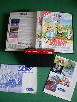 Sega Master System ASTERIX and the Great Rescue complet Pal