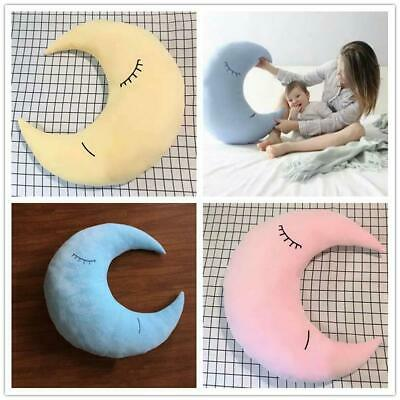 Plush Cute Moon Star Cushion Sweet Dreams Childrens Kids Nursery Pillow Gift