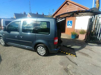 VW Caddy Auto,Wheelchair access or Drive from Wheelchair Power ramp & Tailgate