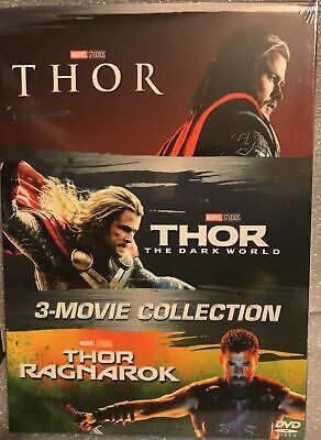 Thor: 3-Disc DVD Trilogy Collection Set
