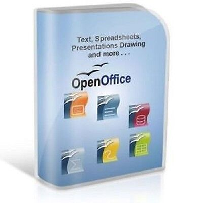 OPEN OFFICE 2013 Pro Edition for Microsoft Windows. Ideal for Home or Student