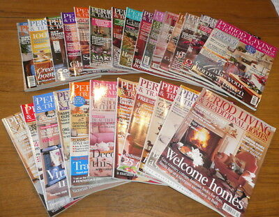 33 x Period Living & Traditional Homes Magazines