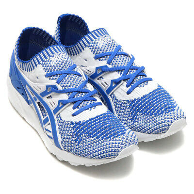 new product 85ed4 c38ee ASICS GEL-KAYANO TRAINER KNIT 42 Blau Weiß Unisex Frühling Sommer Schuhe  Ultra