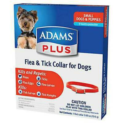 Adams Plus Flea & Tick Small Dog Collar