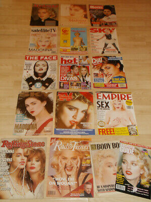 Madonna - Classic Magazine Covers Collection