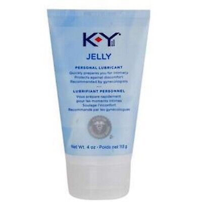 IND K-Y® Personal Lubricant Jelly 4 oz
