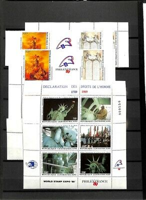 [OP8849] Africa lot of stamps on 12 pages - see photos on description