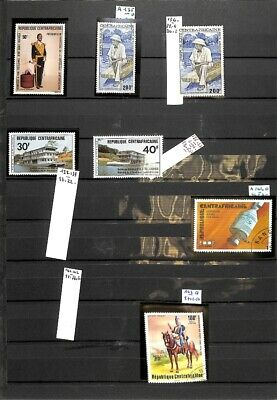 [OP8838] Africa lot of stamps on 12 pages - see photos on description