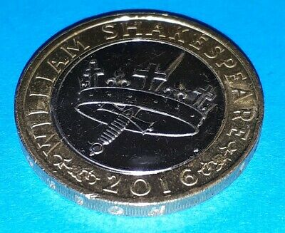 £2 Coin Shakespeare Histories (Crown & Dagger) 2016 Two Pounds COIN HUNT