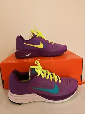 32b9901acfce6 NIKE WOMENS ZOOM structure+ 17 running trainers 615588 535 sneakers ...