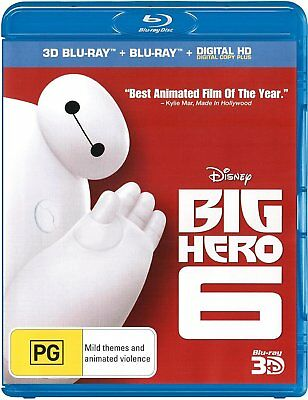 Disney's Big Hero 6 blu-ray