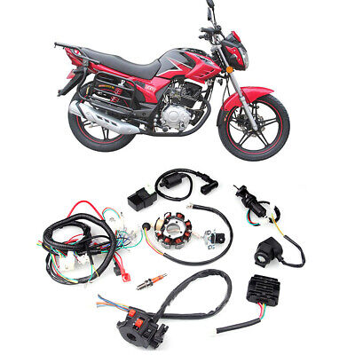Atv Parts & Accessories Dynamic Magneto Stator 50cc 70cc 90cc 110cc 125cc 4 Wire Engine Parts Atv Bike Go Kart