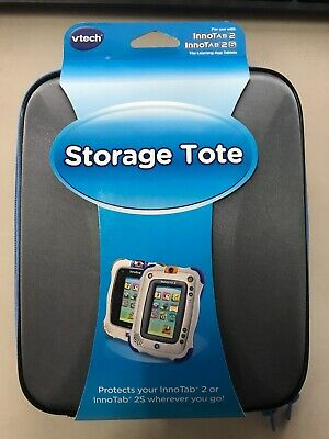 Vtech Innotab Storage Tote / Case Gray Innotab 2 and Innotab 2S