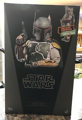 Hot Toys BOBA FETT DELUXE VERSION - sixth scale NEW MMS464 Star Wars