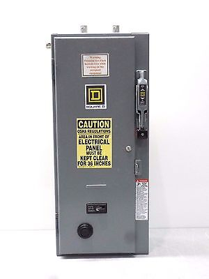 Rx-2431, Square D 8538Sbg12V84Cff4Tx11 Combination Disconnect Starter. 30A
