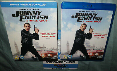 New 2019 Movie - Johnny English Strikes Again (Blu Ray) Dig Download Code Only