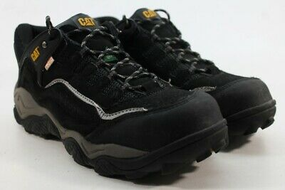 7f6314ed327 CATERPILLAR-CAT PURSUIT LOW Cut STSP Men's Black Work Shoes 10W