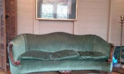 Victorian era couch and chair
