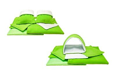 SET Of Lime C&C And Ferplast Cage Liners For Guinea Pig