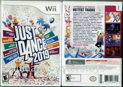 Nintendo Wii JUST DANCE 2019 Video Game Ubisoft Brand New Factory Sealed