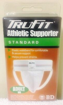 Athletic Supporter Jock Strap Trufit Med 32-38 Original Sports Gear Mens Classic