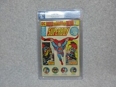 1973 DC 100 Page Spectacular Comic Book SUPERBOY #15   PGX 7.0   FREE SHIPPING
