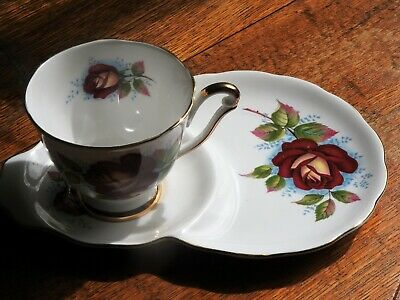 collectable tennis set,cup saucer/plate,Queen Anne,[ opera] bone china England