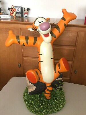 *Rare* Disney Auctions Big Fig Figure - Tigger Bouncing on a Log - LE250
