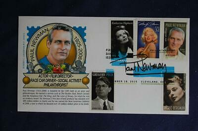 Legends Of Hollywood Paul Newman Stamp FDC R C Graebner Sc5020a 05942 4 Combos