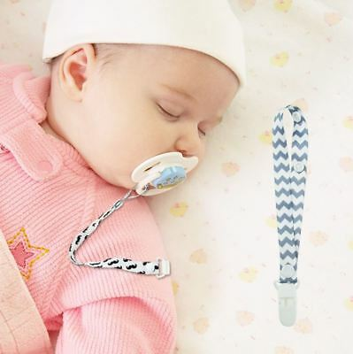 Baby Pacifier Chain Clip Holder Nursing Teether Dummy Soother Dummy Strap