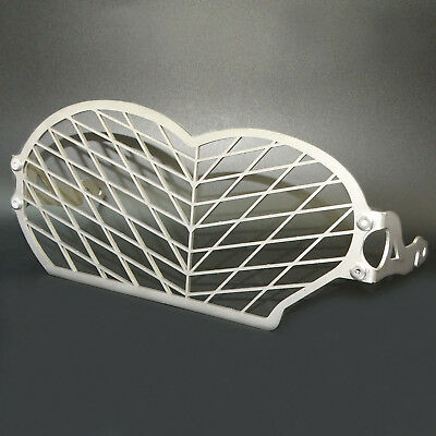 Headlight Grille Guard Cover Protector Titanium For 04-13 BMW R1200GS Oil Cooled