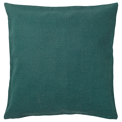 Cuscino Per Pc Ikea.Set Of 2 Ikea Ypperlig Pillow Cushion Cover 20 X 20 Dark Green Dotted New