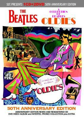 BEATLES  OLDIES - 50th ANNIVERSARY EDITION 1CD+2DVD *F/S