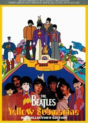 BEATLES  Yellow Submarine =.COLLECTOR'S EDITION=  1×CD+2×D Press *F/S