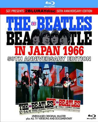THE BEATLES / IN JAPAN 1966 :50TH ANNIVERSARY EDITION 2×Blu-ray  *F/S