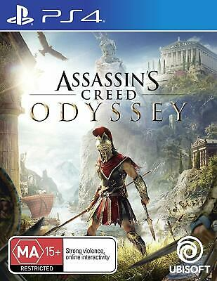Assassin's Creed Odyssey PlayStation 4 PS4 Brand New Game