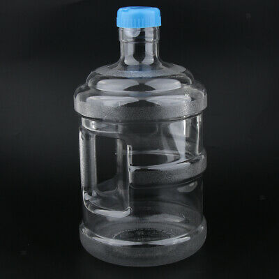 Plastic Reusable Water Bottle Container Jug for Camping Hiking Picnic BBQ