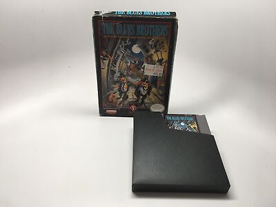 The Blues Brothers - Nes Game Cartridge And Box *cleaned And Tested*