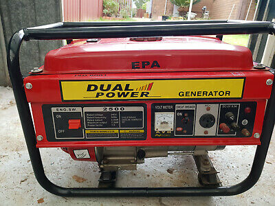 2kw petrol generator in perfect condition, This item was bought to go bush with