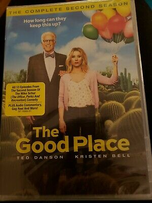 THE GOOD PLACE THE COMPLETE SECOND SEASON 2 DVDs 13 EPISODES BRAND NEW SEALED