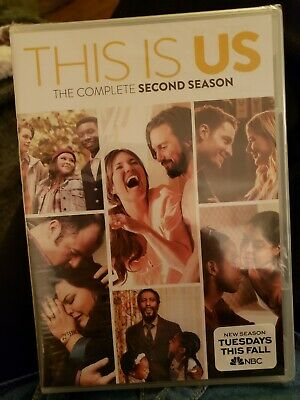 This Is Us: Complete Second Season (Dvd 2018)~ Brand New~ 3 Disc Set~