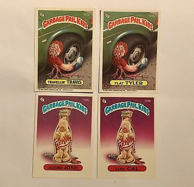 Garbage Pail Kids 1986 Series 4 Cards
