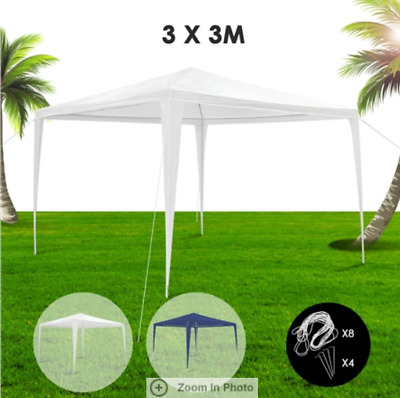 3x3m Gazebo Outdoor Pop Up Tent Folding Marquee Party Camping Canopy