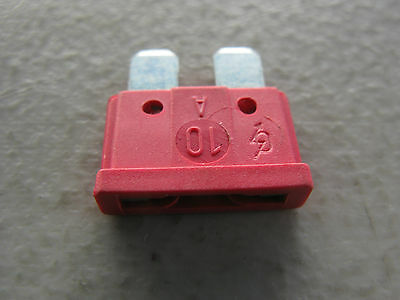 Lots Of 5 Blade Fuse 10A For Mercedes (#072581000304)
