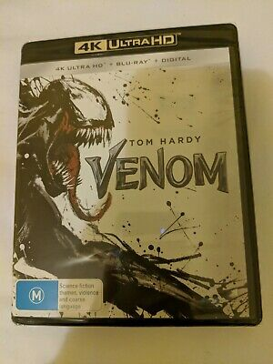 Venom 4K Ultra HD + Blu-ray + Digital BRAND NEW Australian region