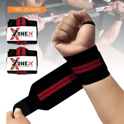 Weight Lifting Wrist Wraps Hand Support Gym training Strap body building gloves