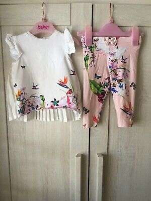392d1720b TED BAKER BABY Girl Top and Leggings Set 3-6 Months - £6.20 ...