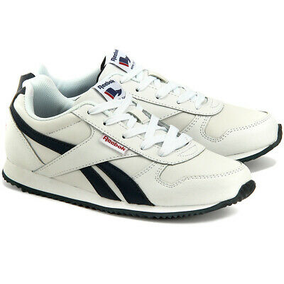 Reebok Kids Trainers Royal Classic Jogger Children Boys Running Shoes White 2983ff791