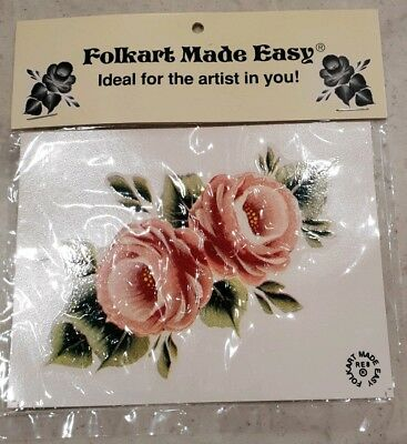 Vintage Folkart Made Easy for Wood by Lyn Newby